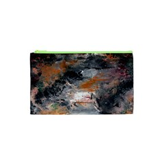 Natural Abstract Landscape No. 2 Cosmetic Bag (XS)