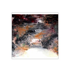 Natural Abstract Landscape No. 2 Satin Bandana Scarf