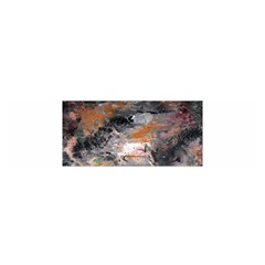 Natural Abstract Landscape No. 2 Satin Scarf (Oblong)