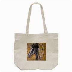 2 Horses Tote Bag (Cream)