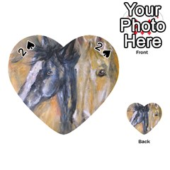 2 Horses Playing Cards 54 (Heart)