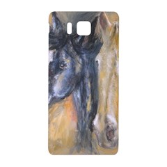 2 Horses Samsung Galaxy Alpha Hardshell Back Case
