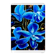 Bright Blue Abstract Flowers Samsung Galaxy Tab Pro 12 2 Hardshell Case