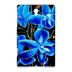 Bright Blue Abstract Flowers Samsung Galaxy Tab S (8.4 ) Hardshell Case