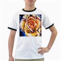 Abstract Rose Ringer T-Shirts