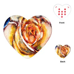 Abstract Rose Playing Cards (Heart)