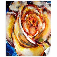 Abstract Rose Canvas 16  X 20
