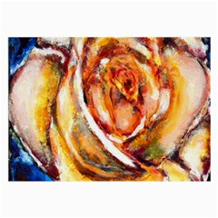 Abstract Rose Large Glasses Cloth
