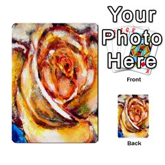 Abstract Rose Multi-purpose Cards (Rectangle)