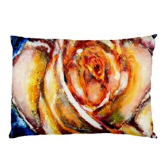 Abstract Rose Pillow Cases