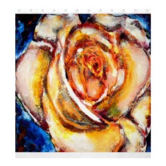 Abstract Rose Shower Curtain 66  x 72  (Large)