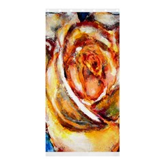 Abstract Rose Shower Curtain 36  X 72  (stall)