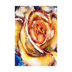 Abstract Rose Shower Curtain 48  x 72  (Small)