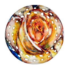 Abstract Rose Ornament (Round Filigree)
