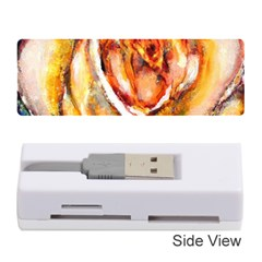 Abstract Rose Memory Card Reader (Stick)