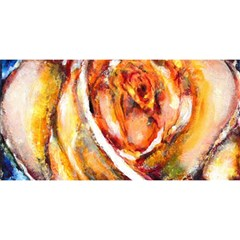 Abstract Rose YOU ARE INVITED 3D Greeting Card (8x4)