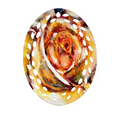 Abstract Rose Ornament (oval Filigree)