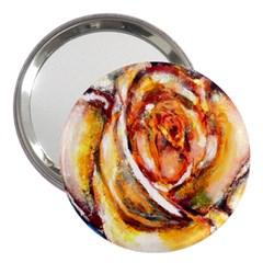 Abstract Rose 3  Handbag Mirrors