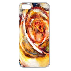 Abstract Rose Apple Seamless Iphone 5 Case (clear)