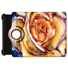 Abstract Rose Kindle Fire Hd Flip 360 Case