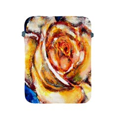 Abstract Rose Apple Ipad 2/3/4 Protective Soft Cases