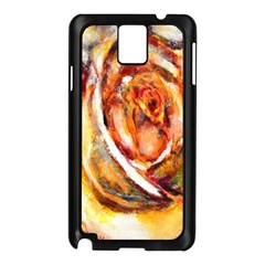 Abstract Rose Samsung Galaxy Note 3 N9005 Case (black)