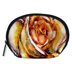 Abstract Rose Accessory Pouches (Medium)