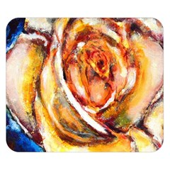 Abstract Rose Double Sided Flano Blanket (small)