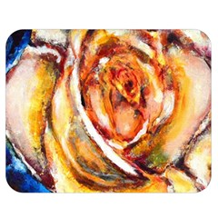 Abstract Rose Double Sided Flano Blanket (medium)