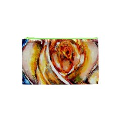 Abstract Rose Cosmetic Bag (xs)