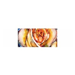 Abstract Rose Satin Scarf (oblong)