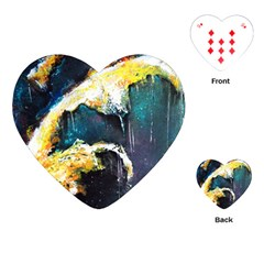 Abstract Space Nebula Playing Cards (Heart)