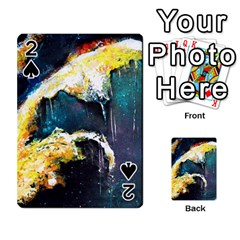 Abstract Space Nebula Playing Cards 54 Designs
