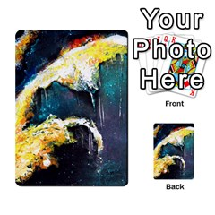 Abstract Space Nebula Multi-purpose Cards (Rectangle)