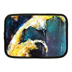 Abstract Space Nebula Netbook Case (medium)