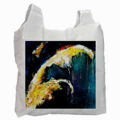 Abstract Space Nebula Recycle Bag (one Side)
