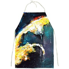Abstract Space Nebula Full Print Aprons