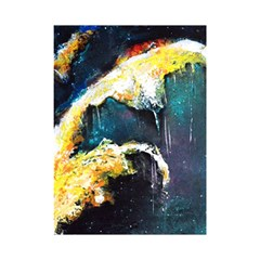 Abstract Space Nebula Shower Curtain 48  x 72  (Small)