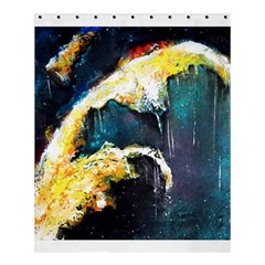 Abstract Space Nebula Shower Curtain 60  X 72  (medium)