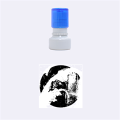 Abstract Space Nebula Rubber Round Stamps (small)