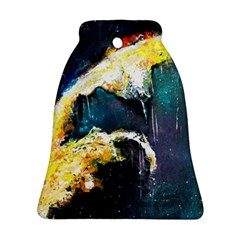 Abstract Space Nebula Bell Ornament (2 Sides)