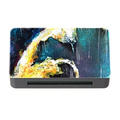 Abstract Space Nebula Memory Card Reader With Cf