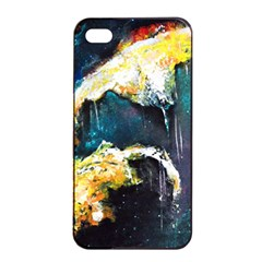 Abstract Space Nebula Apple Iphone 4/4s Seamless Case (black)