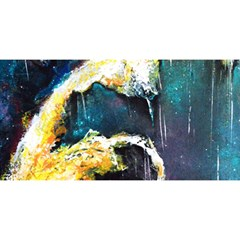 Abstract Space Nebula YOU ARE INVITED 3D Greeting Card (8x4)