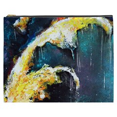 Abstract Space Nebula Cosmetic Bag (xxxl)