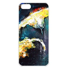 Abstract Space Nebula Apple Iphone 5 Seamless Case (white)
