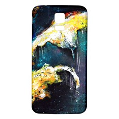 Abstract Space Nebula Samsung Galaxy S5 Back Case (white)