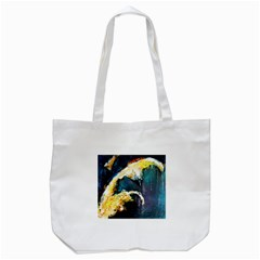 Abstract Space Nebula Tote Bag (white)