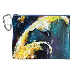 Abstract Space Nebula Canvas Cosmetic Bag (XXL)