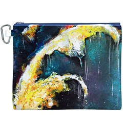 Abstract Space Nebula Canvas Cosmetic Bag (XXXL)